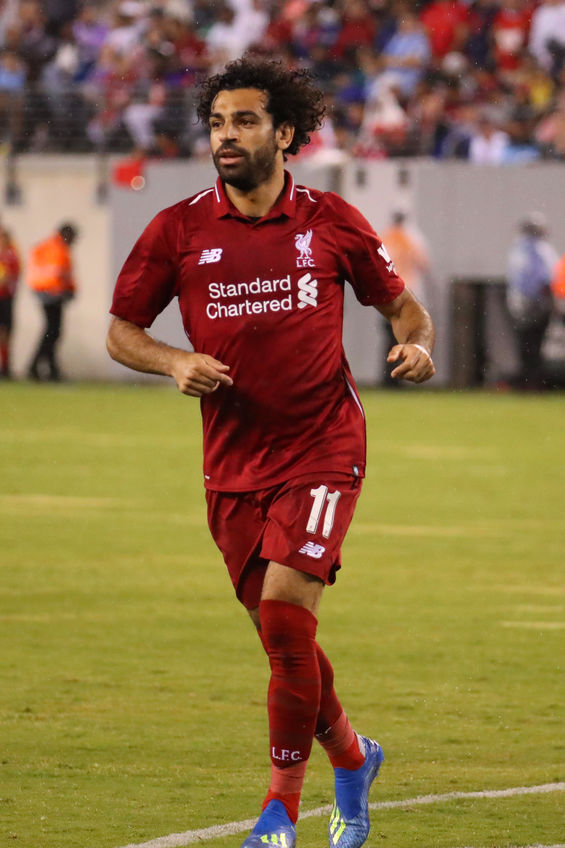 Mohamed Salah #11 of Liverpool