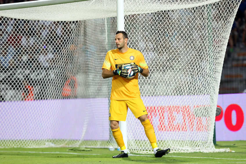 Samir Handanovic dell'Inter