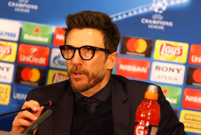 Roma manager, Eusebio Di Francesco