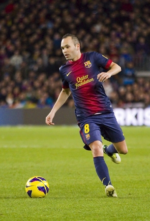Andres Iniesta, Barcellona