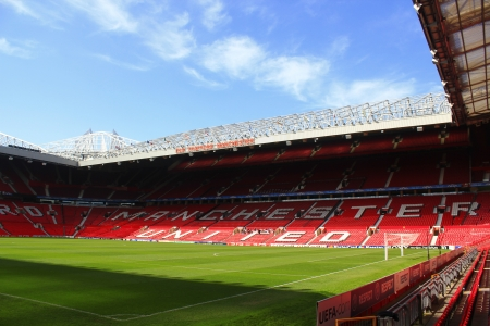 Old Trafford stadio, Manchester