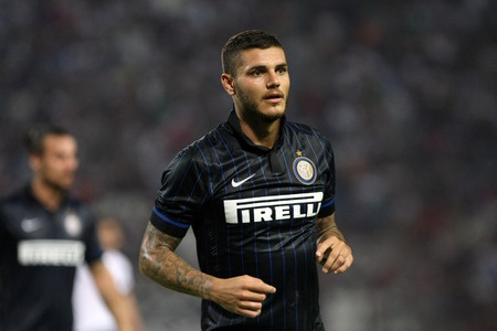 Mauro Icardi dell'Inter