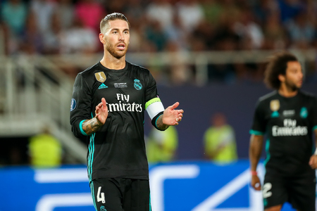 Real Madrid Sergio Ramos